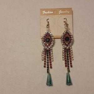 Jewelry - NEW Fashion Rhinestone Earrings